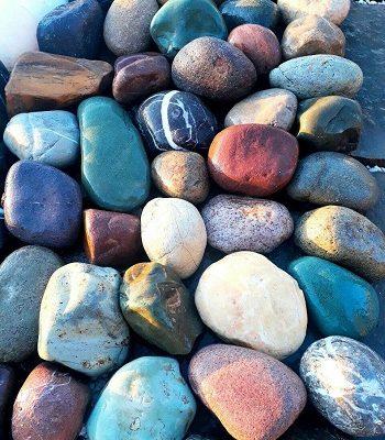 سنگ قلوه ای رنگی سوپر