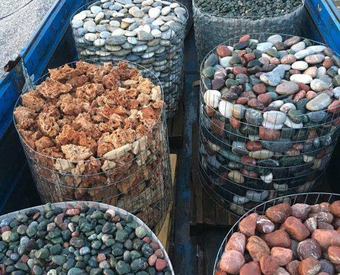 موارد استفاده سنگ های رودخانه ای