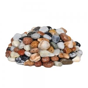 سنگ رودخانه ای رنگی