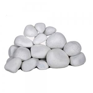 سنگ رودخانه ای مرمریت سفید